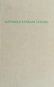 Gotthold Ephraim Lessing.