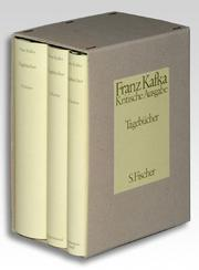 The diaries of Franz Kafka by Franz Kafka