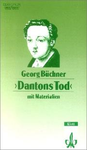 Cover of: Dantons Tod by Georg Büchner