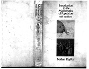 Introduction to the Mathematics of Populations (Behavioral Science)