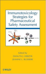 Immunotoxicology strategies for pharmaceutical safety assessment
