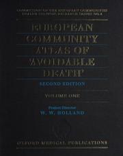 European Community Atlas of Avoidable Death