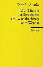 How to do things with words PDF