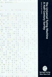 The Universal Turing Machine PDF