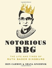 Cover image for Notorious RBG: The Life and Times of Ruth Bader Ginsburg