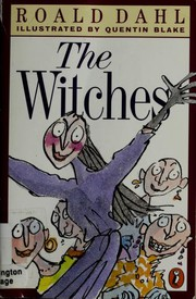 Book Cover: 'The Witches' by Roald Dahl
