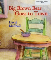 Big Brown Bear Goes to Town Cover