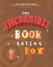 Incredible Book Eating Boy Cover