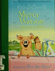 Book Cover: 'Mercy Watson Goes for a Ride' by Kate DiCamillo