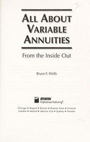 Thumbnail of All About Variable Annuities: From the Inside Out