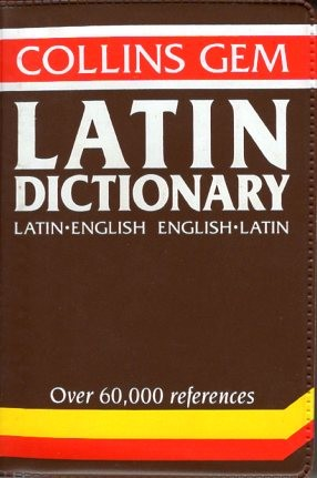 Collins Gem Latin-English Dictionary