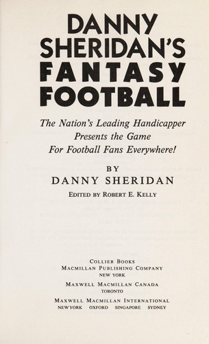 Danny Sheridan's Fantasy Football