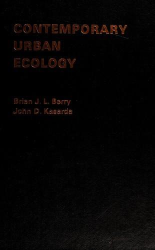 Contemporary Urban Ecology