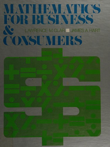 Mathematics for Business and Consumers