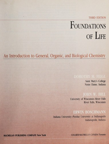 Foundations of Life