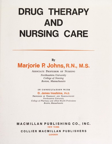 Drug Therapy and Nursing Care