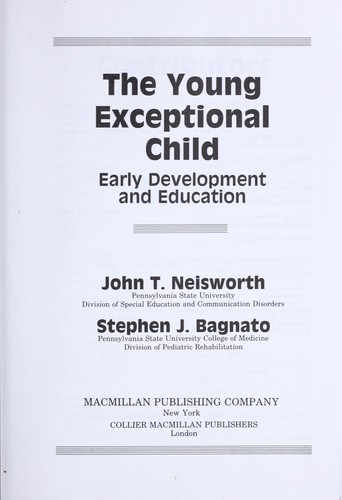 The Young Exceptional Child