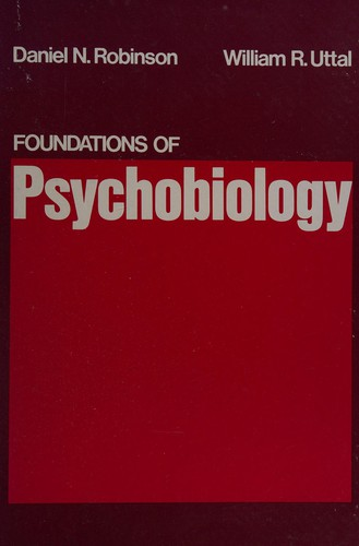 Foundations of Psychobiology