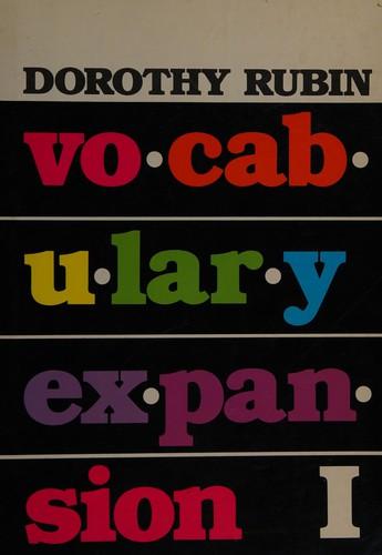 Vocabulary Expansion I