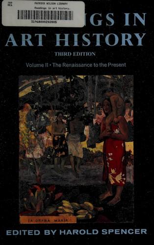 Readings in Art History, Volume 2