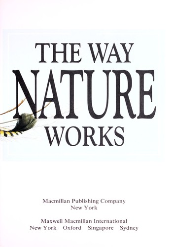 The Way Nature Works