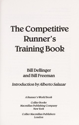 The Competitive Runner's Training Book