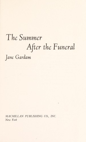 The Summer After the Funeral