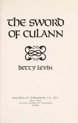 The Sword of Culann