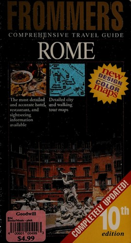 Frommer's City Guide to Rome