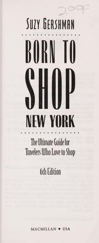 Born to Shop New York