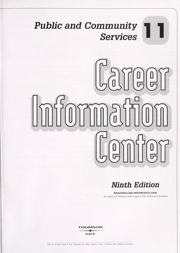 Career Information Center