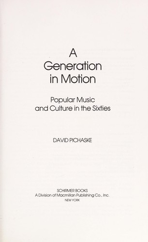 A Generation in Motion