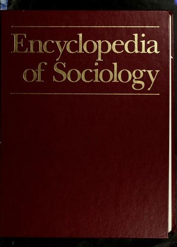 Encyclopedia of Sociology