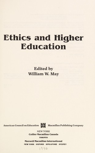 Ethics and Higher Education