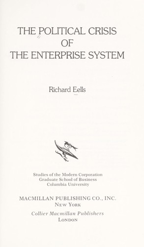 The Political Crisis of the Enterprise System