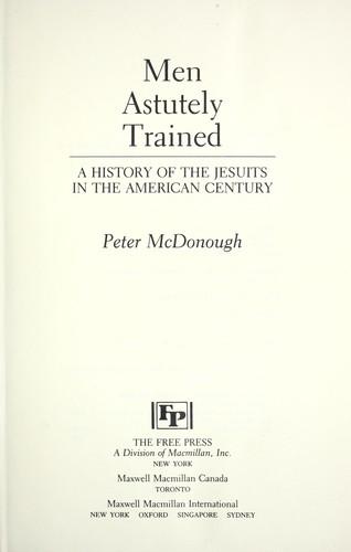 Men Astutely Trained