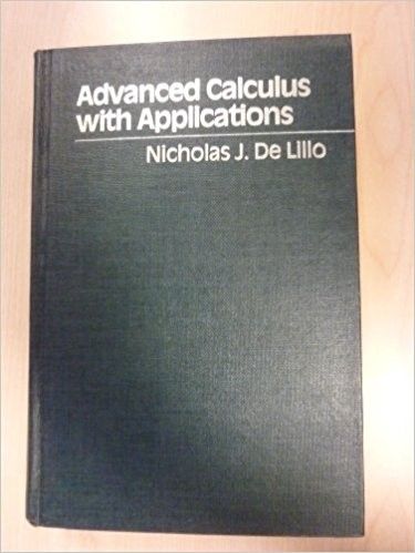 Advanced Calculus with Applications