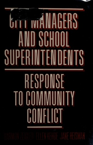 City Managers and School Superintendents