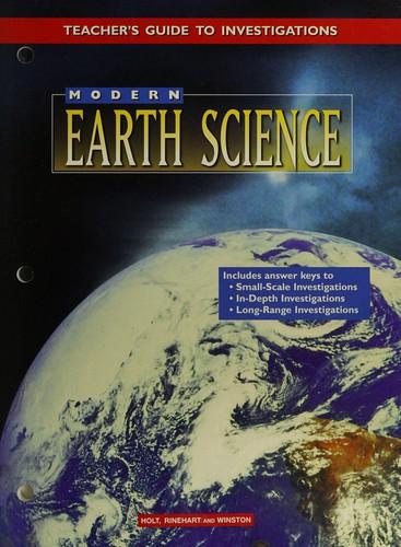 Modern Earth Science