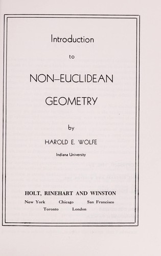 Introduction to Non Euclid Geometry