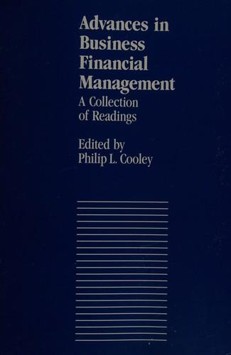 Advances in Business Financial Management