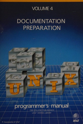 UNIX Programmer's Series