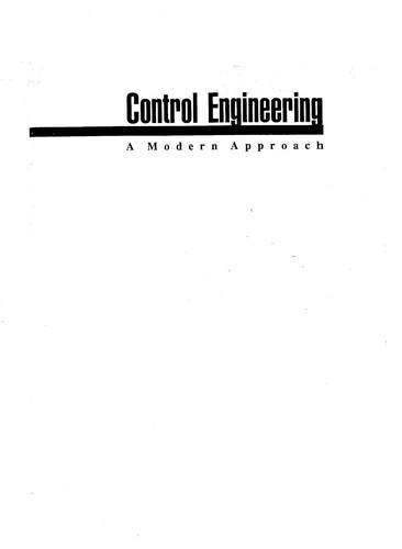 Control Engineering - International Student Ed