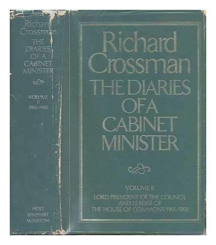 The Diaries of a Cabinet Minister