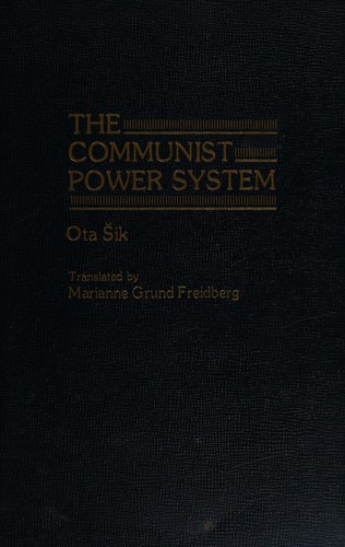The Communist Power System