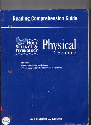 Rdg Comprehension GD HS&T 2007 Phys