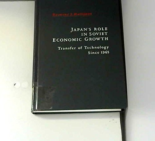 Japan's Role in Soviet Economic Growth