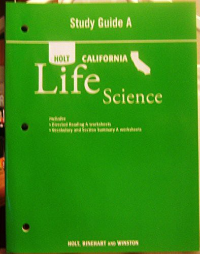 Study Guide a CA Sci 2007 Life