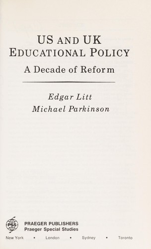 Us and UK Educational Policy