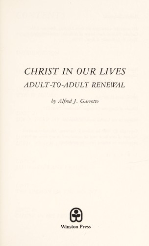 Christ in Our Lives